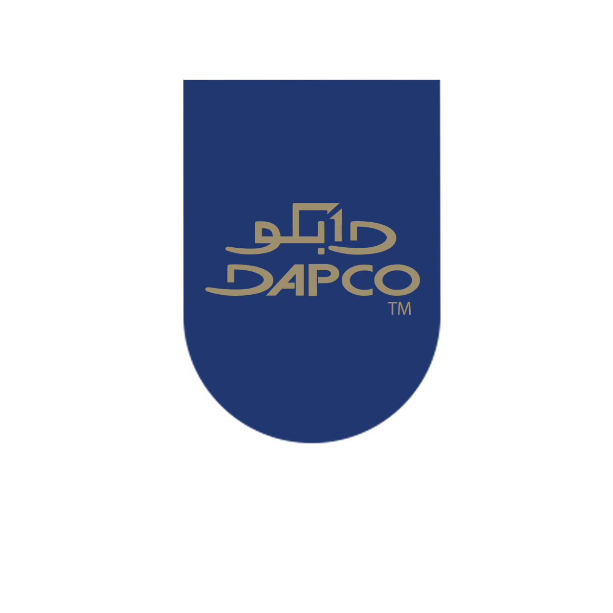 Logo with arc dapco